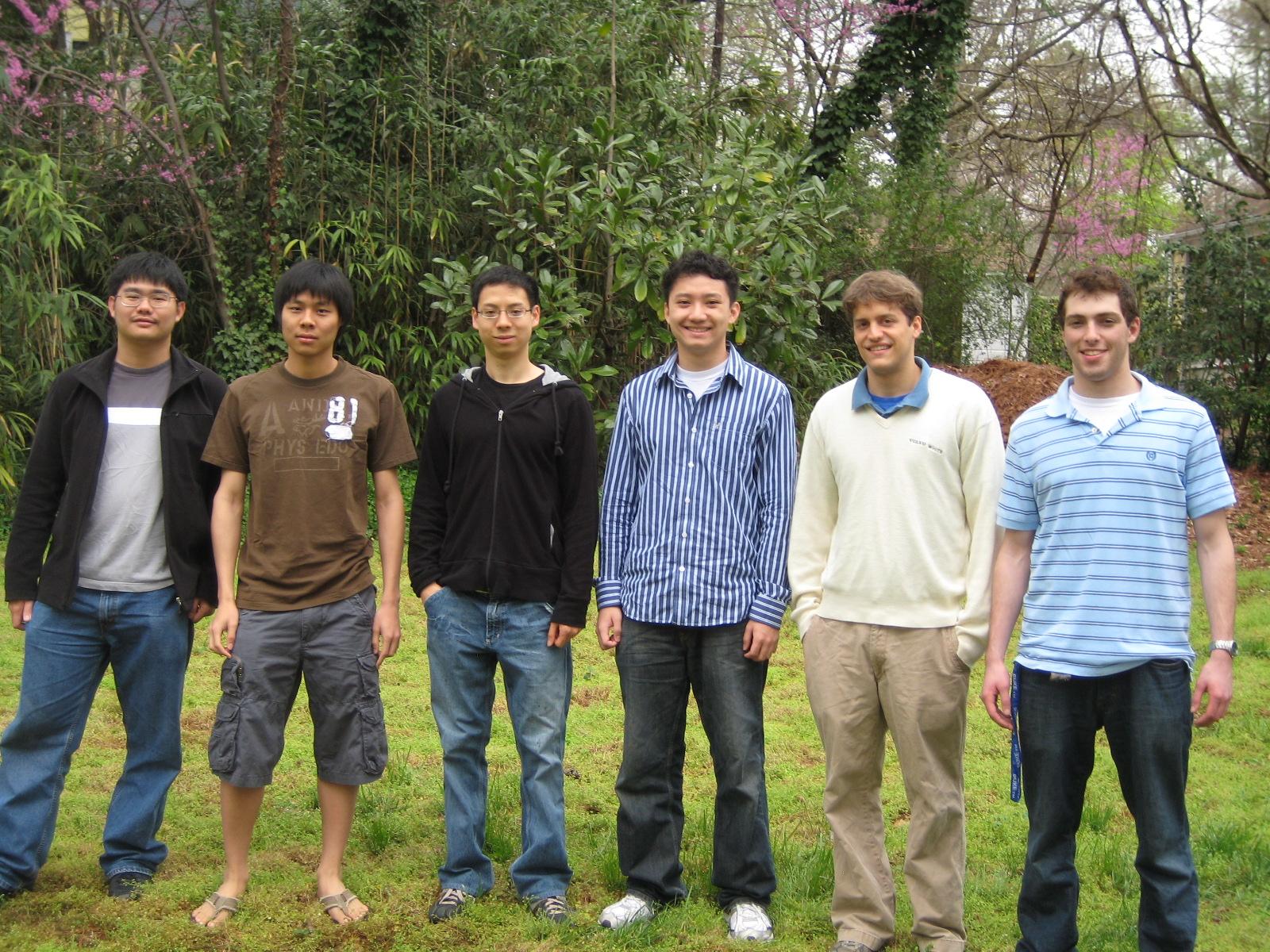 PRUV 2009 Fellows
