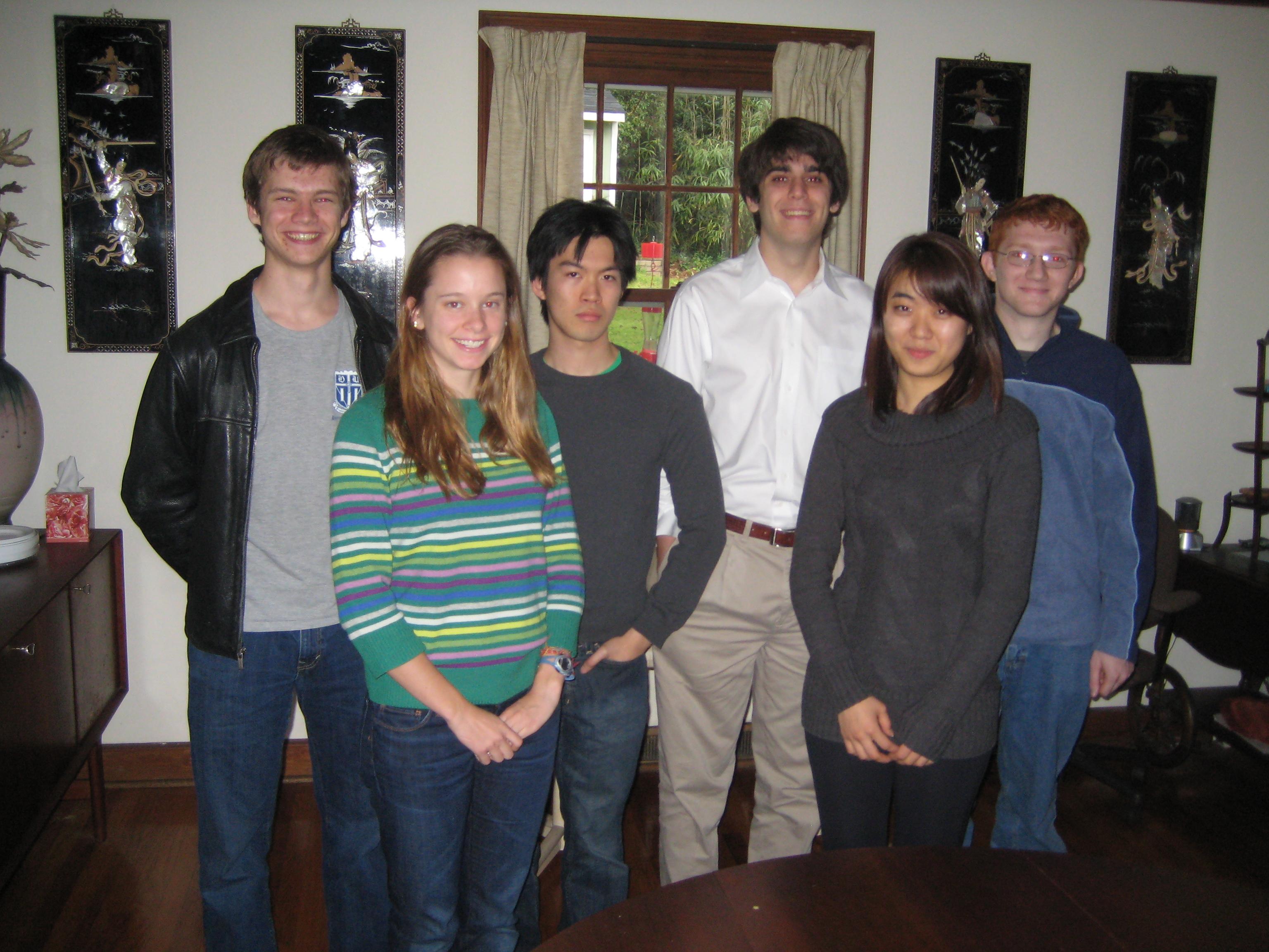 PRUV 2011 Fellows