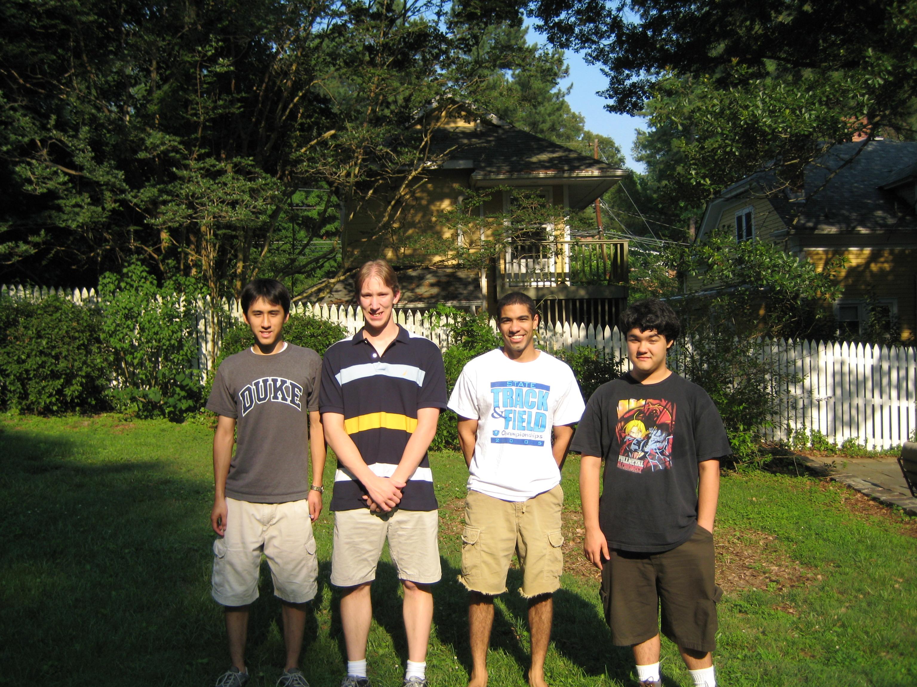 PRUV 2007 Math Research and PRUV Fellows