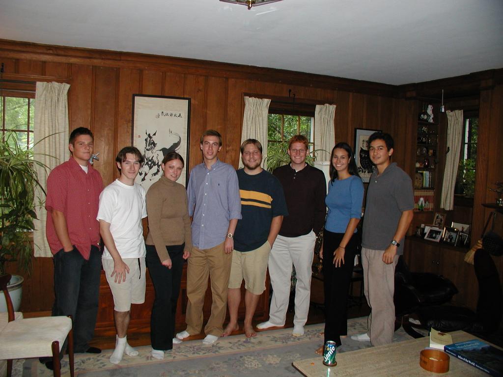 PRUV 2002 Fellows