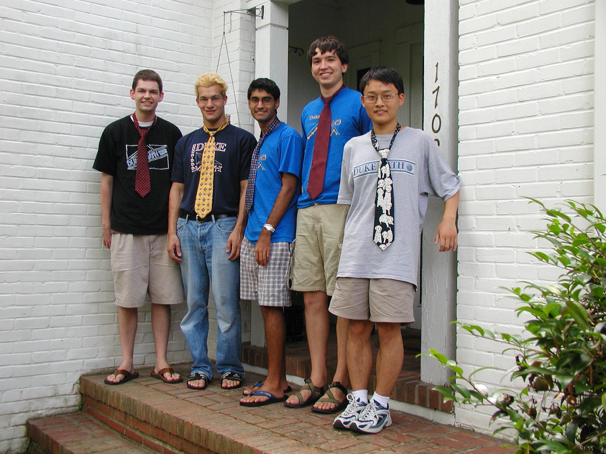 PRUV 2004 Fellows